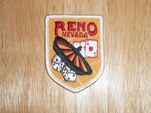 Reno NV - Old Souvenir Travel Patch