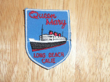 Queen Mary CA - Old Souvenir Travel Patch