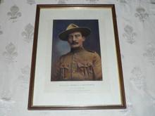 Major General Robert Baden Powell Print, Defender of Mafeking, 1900's