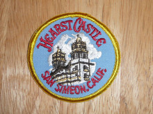 Hearst Castle CA - Old Souvenir Travel Patch