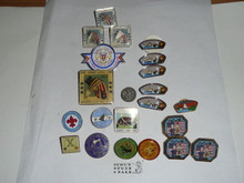 Group of 22 Pins from San Diego County Boy Scout Council