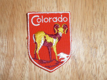 Colorado - Old Souvenir Travel Patch
