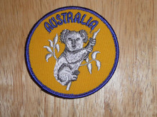 Australia Hoala Bear - Old Souvenir Travel Patch