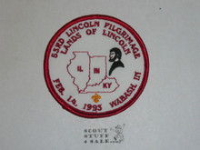1993 (53rd) Lincoln Pilgrimage Patch - Boy Scout