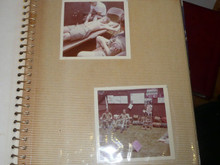 1960's Boy Scout Photo Album with 13 pages of pictures, LONG BEACH CA, PA10