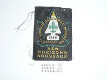 1955 World Boy Scout Jamboree Patch - Scout