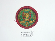 1939 World Rover Scout Moot woven Patch