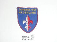 1937 World Jamboree Swiss Contingent Patch