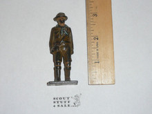 1920's Vintage Barclay Manoil Lead Toy Boy Scout Figure Standing Scout