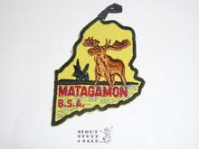Maine Matagamon National Seabase Participant Patch