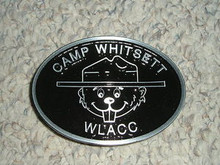 2000's Camp Whitsett Cast Aluminum Belt Buckle - Scout