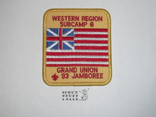 1993 National Jamboree Subcamp 6 Patch