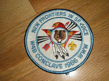 Section W4B 1986 O.A.Conference Patch - Scout