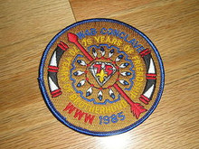 Section W4B 1985 O.A.Conference Patch - Scout