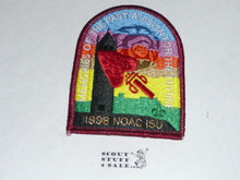 National Order of the Arrow Conference (NOAC), 1998 Patch