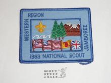 1993 National Jamboree Western Region Patch