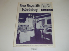 Your Boys' Life Workshop Boys' Life Reprint #6-25, 1950's Printing