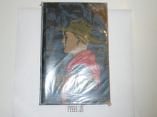 1937 Boy Scout Handbook, Third Edition, Twenty-seventh Printing, Norman Rockwell Cover, near MINT with lt edge wear