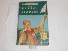 1953 Handbook For Patrol Leaders,  World Brotherhood (Second) Edition, MINT Condition