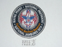 2013 National Jamboree Patch, Wayne Perry National President