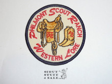 Philmont Scout Ranch, Western Lore Patch