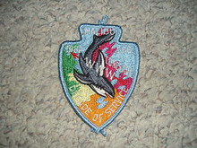 Order of the Arrow Lodge #566 Malibu 1982 Conclave Patch - Scout