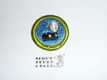 Photography (camera) - Type H - Fully Embroidered Plastic Back Merit Badge (1971-2002)