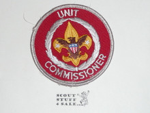 Neighborhood Commissioner / Unit Commissioner Patch (NC11), 1973-?, lt use