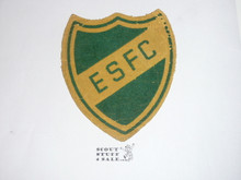 1930's Region 10 Eagle Scout Forestry Corp Patch, Composition material with flocking, some wear, VERY RARE