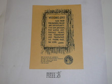 "Charles L. Sommers Wilderness Canoe Base Wilderness Grace Card, 5.5"" x 4.25"""