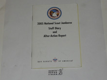 2005 National Jamboree STAFF Diary and After-Action Report