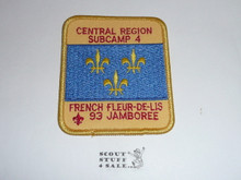 1993 National Jamboree Subcamp 4 Patch