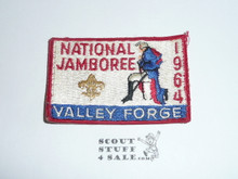 1964 National Jamboree Patch, Lt. use