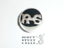 Rover Scout Teens Collar Brass, Appears to be Silver
