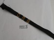 Civil Service Scout Braid for sash, 1940's, sewn