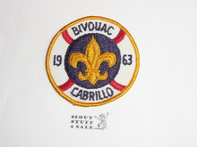 Verdugo Hills Council, Western Region, 1963 Explorer Bivouac Patch