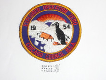 Chicago Council, 1954 Explorer Operation Zero Patch