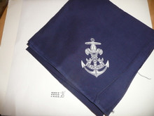 Sea Scout Neckerchief, full square, 1930's
