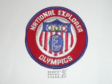 National Explorer Scout Olympics Patch
