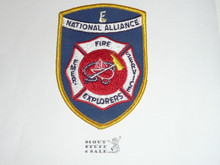 National Alliance of Emergency and Fire Explorer Scouts Patch