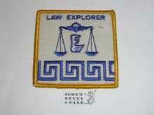 Law Explorer Scout Patch