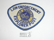 Law Enforcement Explorer Scout Patch, Los Angeles Police Department