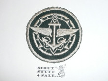 Explorer Advisor Patch on Green (EX-11), CAW Design, lite use