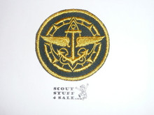 Explorer Assistant Advisor Patch on Green (EX-13), CAW Design