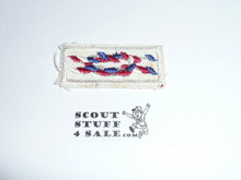 Eagle Scout Award Knot on Sea Scout White, 1966-1980
