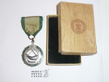 Ranger Award Medal, 1940's, Some wear, Original Box