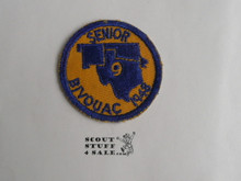 Region 9 Senior Scout Bivouac Patch, 1948