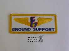 Air Exploring Ground Support Patch, Error issue as it should have been on blue twill