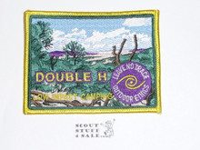 Double H High Adventure Base Leave No Trace Patch