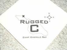 Camp Emerald Bay - Rugged C (Canoe) Neckerchief - Very RARE